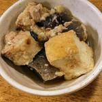 大都会 - 100円小鉢(厚揚げのシーチキン炒め)