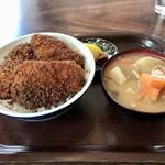 金長食堂 - 料理写真:ソースかつ丼(並盛)