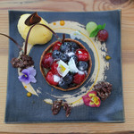 Gallery & Cafe ENSOU - アメリカンチェリーとピスタチオクラフティ☆