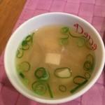 カレー工房ダーニャ - 味噌汁