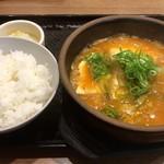 カルビ丼とスン豆腐専門店 韓丼  - 海鮮スン豆腐定食