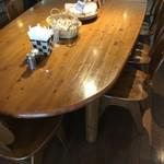 レストラン食茶房むうぷ - (内観)大テーブル席