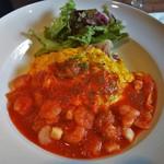 Pesce - 魚介たっぷりトマトソースのオムライス