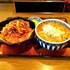 いなだ屋 - 料理写真:カレー南豚丼セット