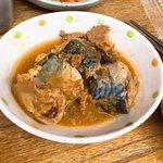 立ち飲み処 かぐら - 鯖の味噌煮