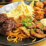 食堂 あぶらや - 料理写真:東海ゴールデン定食 1,480円(税込)。     2018.05.20