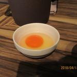 居酒屋 十兵衛 - 生卵