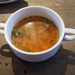 LAS DOS CARAS MODERN MEXICANO Y TACOS - スープ