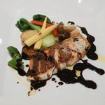 ラ・トリロジー - 真鯛のポワレバルサミコソース