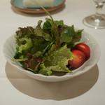 ラ・トリロジー - ランチのサラダ