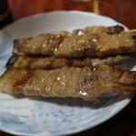焼き鳥きむら - 豚ミソ(1本90円)