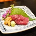 神戸牛 ステーキ割烹 雪月花 炭火焼 - ☆神戸牛のタタキ