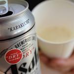 富士宮やきそば学会 - 麦酒で乾杯♪