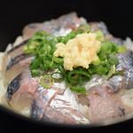 いけすや - 料理写真:活アジ丼
