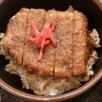 扇屋 - ソースカツ丼ミニ