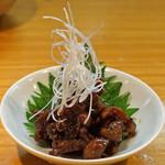 石臼挽き手打 蕎楽亭 - 穴子肝の佃煮