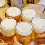 86495499 - 居酒屋さんの乾杯はビアでしょう