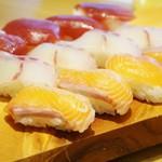 本格握り寿司と旨い酒 ふらり寿司 - 握り色々