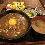 民芸そば処今井 - カレー丼650円(税込)