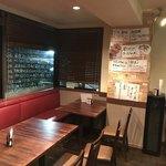 生パスタ食堂&伊酒場 タツヤ - この場所で、女子会をやってた。お開きの後。       それにしても、うるさかった。