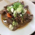 中川食堂 - 馬肉煮込定食