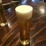 鳥志 - ドリンク写真:鳥志 スタイルのいい生ビール