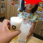 魚輝水産 - 乾杯(o^-')b