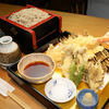 季寄せ 蕎麦 柏や - 料理写真:国産車海老の天ぷらせいろ