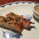 石鍋料理 健 - 海老パン、山椒塩添え