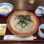 そば処吉野庵 - 料理写真:ざるセット 800円