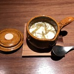 円山 十六夜 - ランチサービス、茶碗蒸しです。