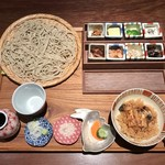 円山 十六夜 - そば御膳です。