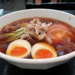 天神らぁめん - 冷やしらぁめん(細麺)