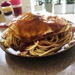 スパゲティ コモ - ピカタ(大盛り)