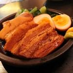86507768 - やわらか角煮、味玉子(540円)