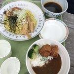 中央レストラン - ざるラーメンとキッズカレー500円