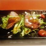 86510220 - 自家製ローストビーフ ジュレのソースとドライトマト