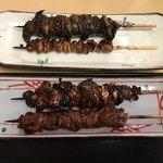 登亭 - 鰻串焼き