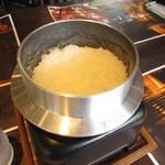 薪焼きハンバーグと厚切りステーキ 薪たま - 炊きたてご飯