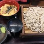 嵯峨谷 - 東京は冷もりそばの方が美味しいような気がする!