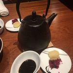 86514750 - お茶漬け用の鰹出汁でございます…
