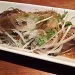 86515729 - カツオの塩タタキ~香味野菜~
