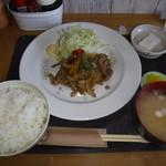 きくち - 料理写真:豚スタミナ炒め