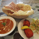 インド料理 マンザリ - 料理写真:ランチBセット1000円