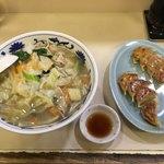 福水園 - タンメン+餃子