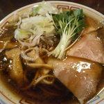サバ6製麺所 - サバ醤油そばです