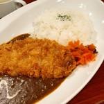 銀座ライオン - ポークカツカレー  1100円 (税込)