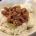 博多フードパーク 納豆家 粘ランド - 納豆ご飯
