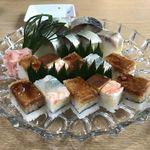 千登利亭 - 鯖寿司 2100円  箱寿司 1500円