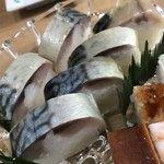 千登利亭 - 鯖寿司 やっぱり美味しい!!